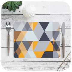 Scandi Geometric Placemats