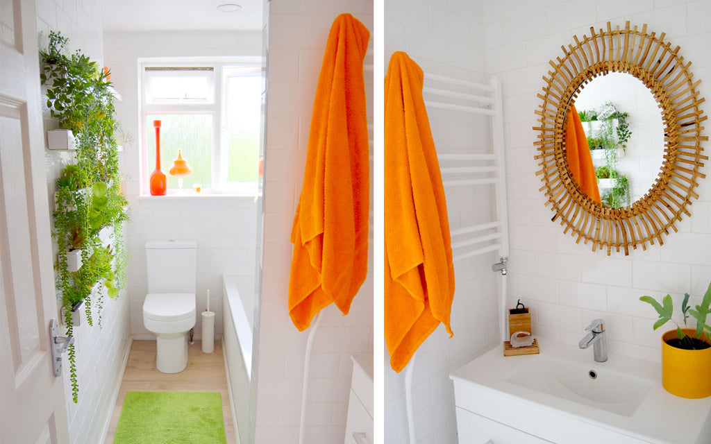 House Tour - Sophie's Colourful Bathroom.