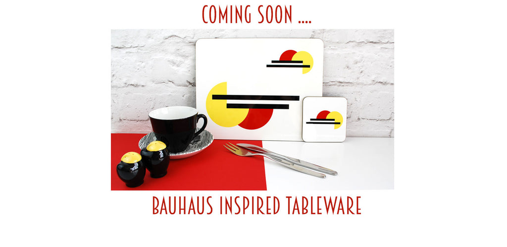 bauhaus tableware coming soon