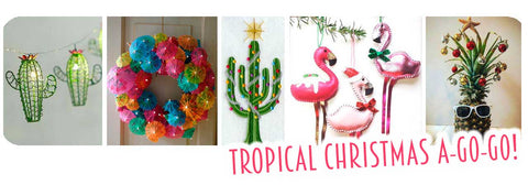 Tropical Christmas A-go-go