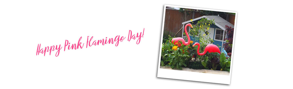 Happy Pink Flamingo Day from Inkabilly