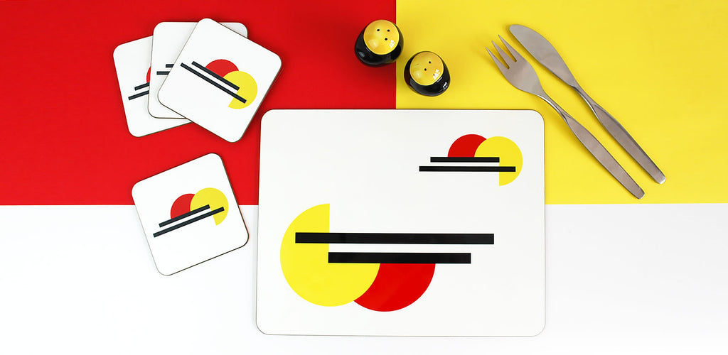 Bauhaus Tableware by Inkabilly