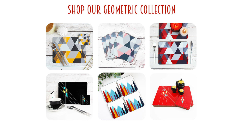 shop our geometric tableware collection