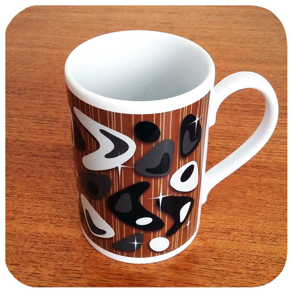 Atomic Boomerang Mug | The Inkabilly Emporium