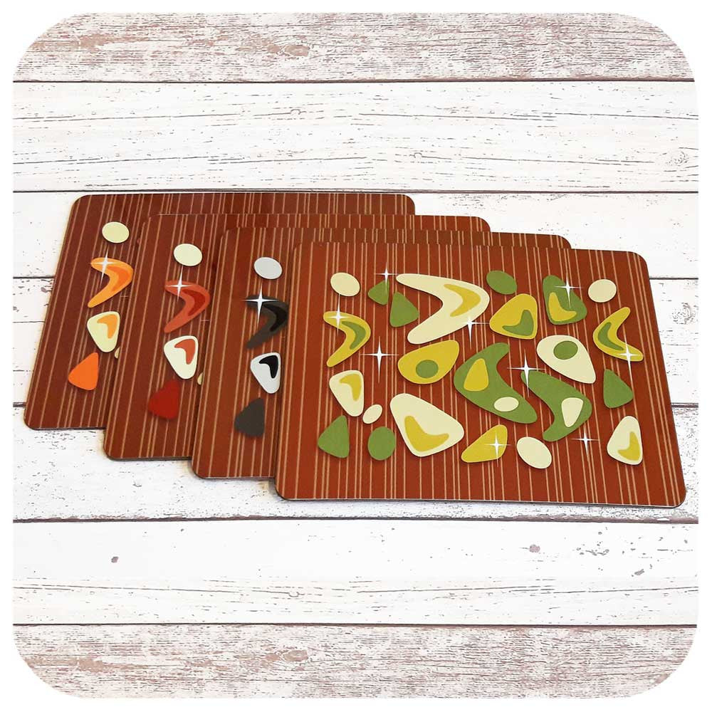 Mid Century Style Placemats  | The Inkabilly Emporium