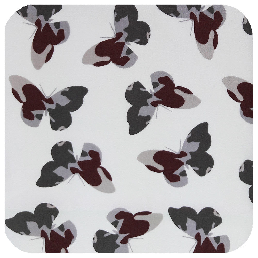 Camouflage Butterflies Print Bandana | The Inkabilly Emporium