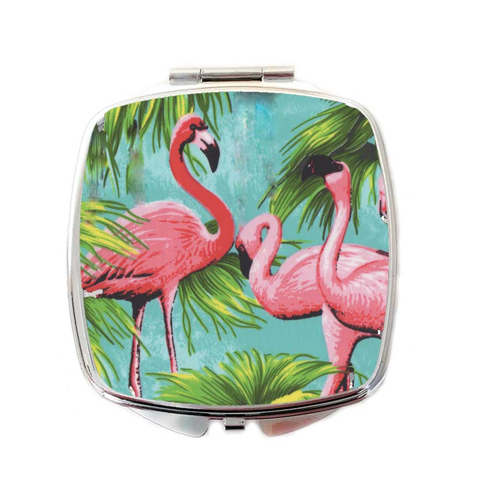 Flamingo Compact mirror | The Inkabilly Emporium