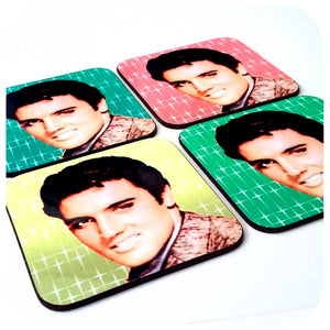 1950s Elvis Coasters | The Inkabilly Emporium
