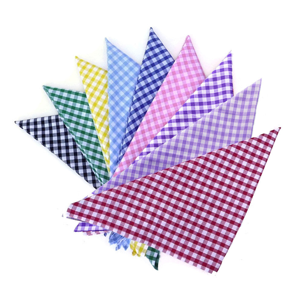 Gingham Rockabilly Bandanas | The Inkabilly Emporium
