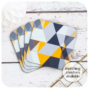 Scandi Geometric Placemats, set of 6, as seen in Mollie Makes Magazine | The Inkabilly Emporium
