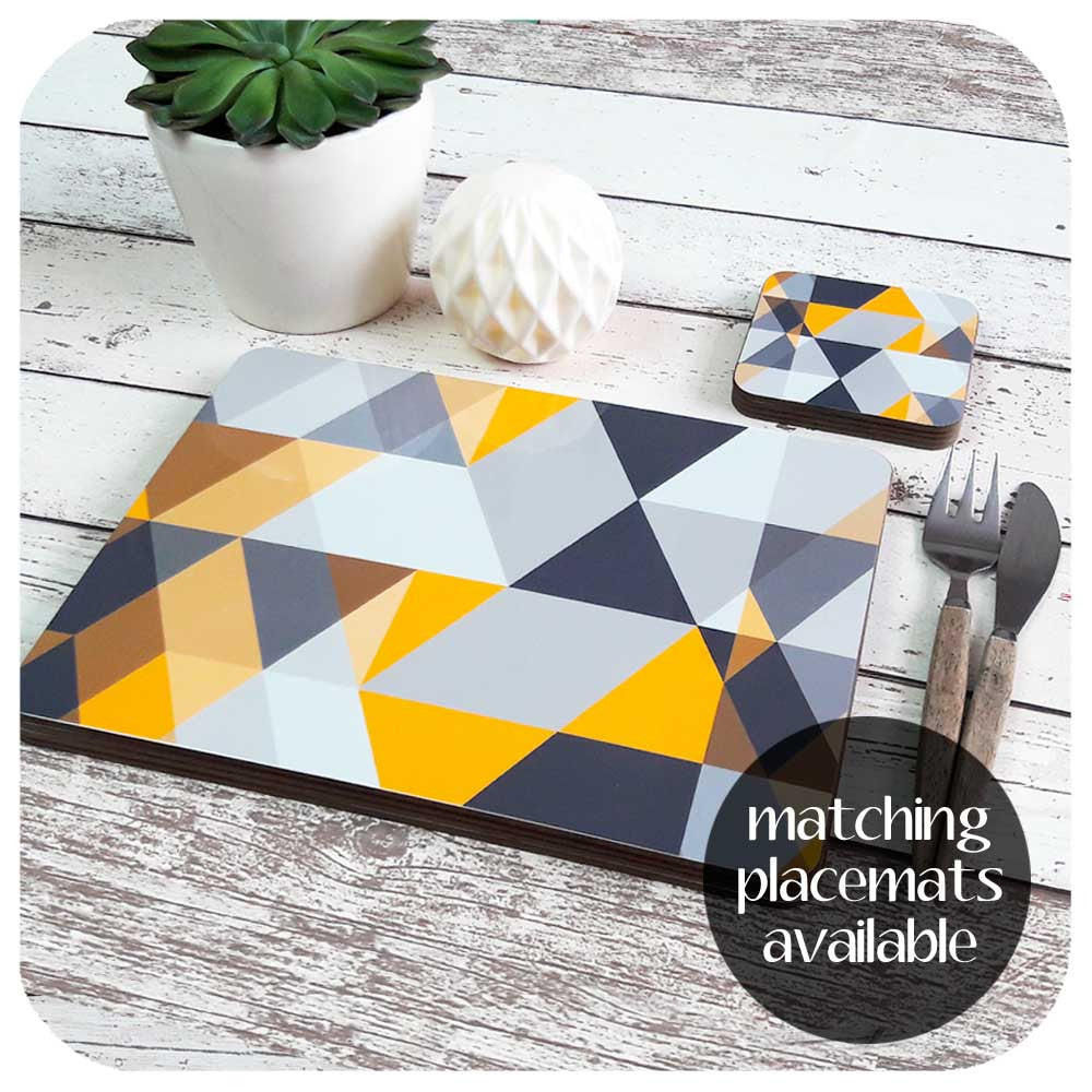 Matching placemats available to complete the Scandi tableware set  | The Inkabilly Emporium