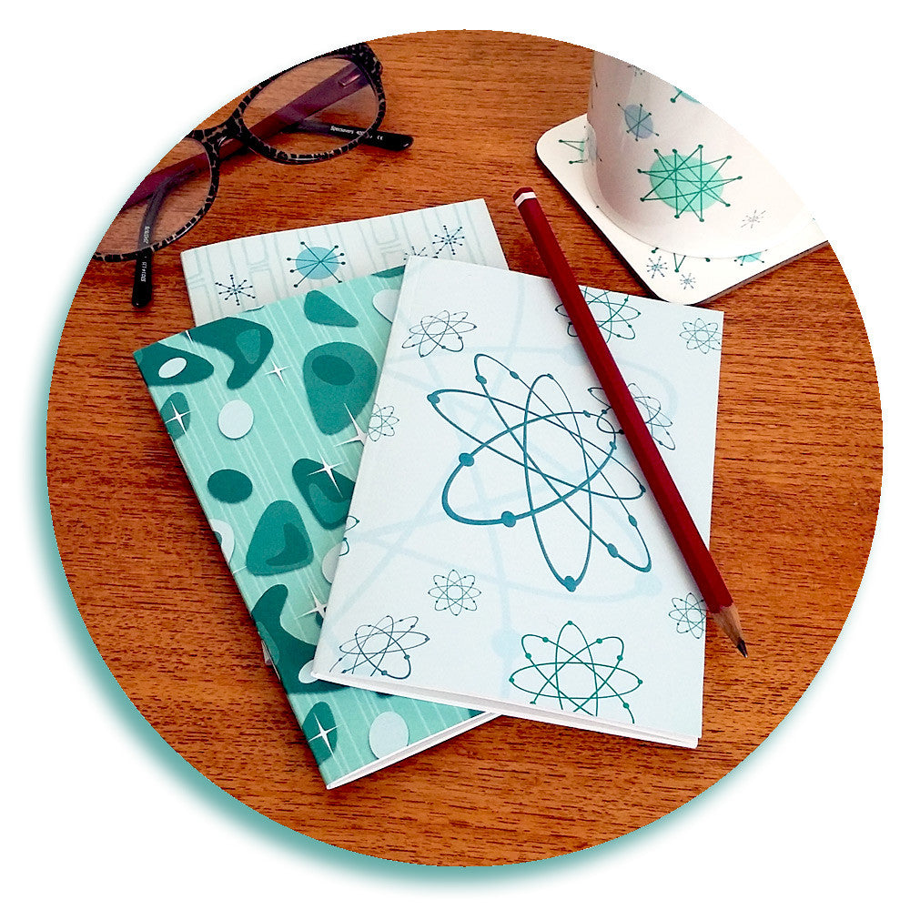 Atomic notebooks by Inkabilly