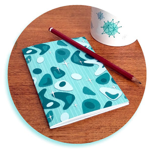 Atomic Boomerang Notebook by Inkabilly