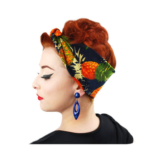 Pineapple Headscarf | The Inkabilly Emporium
