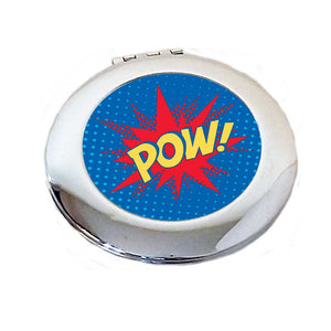 POW! pop art Compact Mirror | The Inkabilly Emporium