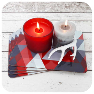 Scandi Christmas Placemats | The Inkabilly Emporium