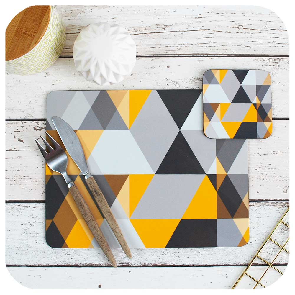 Scandinavian Modern Kitchen Decor, place setting | The Inkabilly Emporium