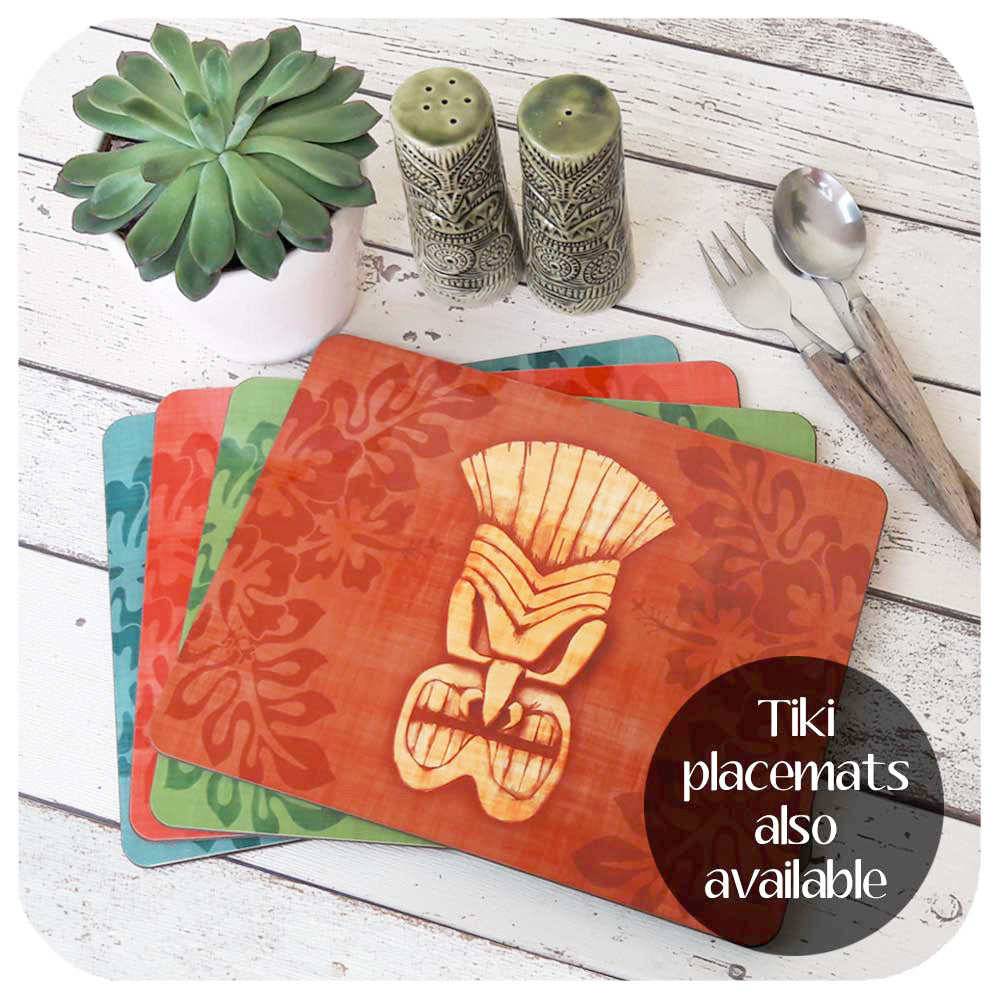 Tiki Placemat Set | The Inkabilly Emporium