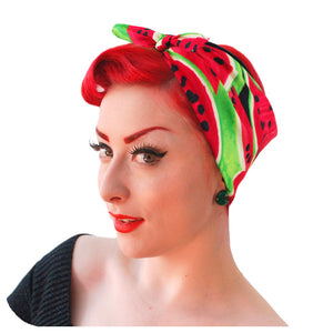 Watermelon Bandana | The Inkabilly Emporium