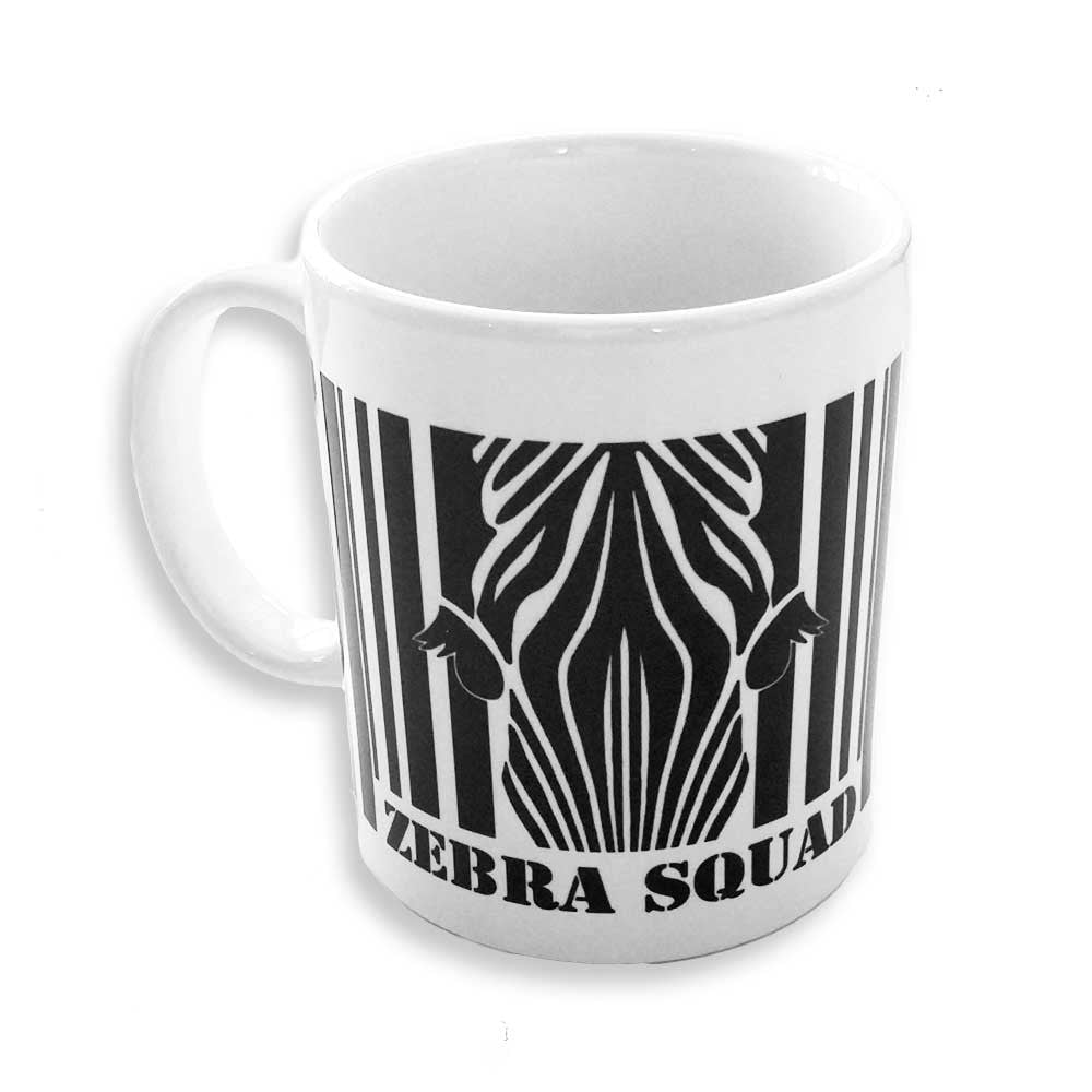 Zebra Squad Mug, Roller Derby Referee & NSO Mug  | The Inkabilly Emporium
