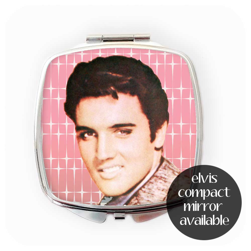 Kitsch Elvis Compact Mirror also available | The Inkabilly Emporium