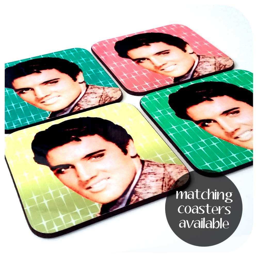Elvis coasters | The Inkabilly Emporium