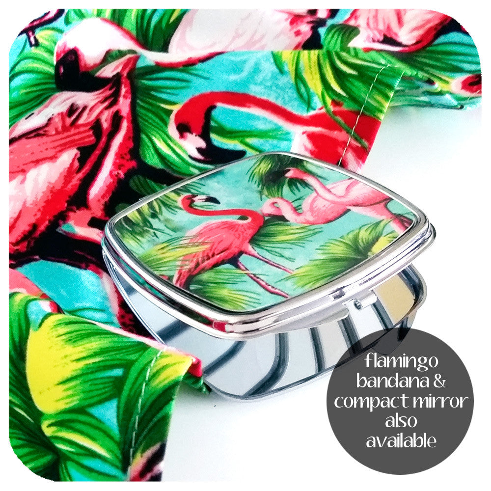 Flamingo Compact Mirror and Bandana also available | The Inkabilly Emporium