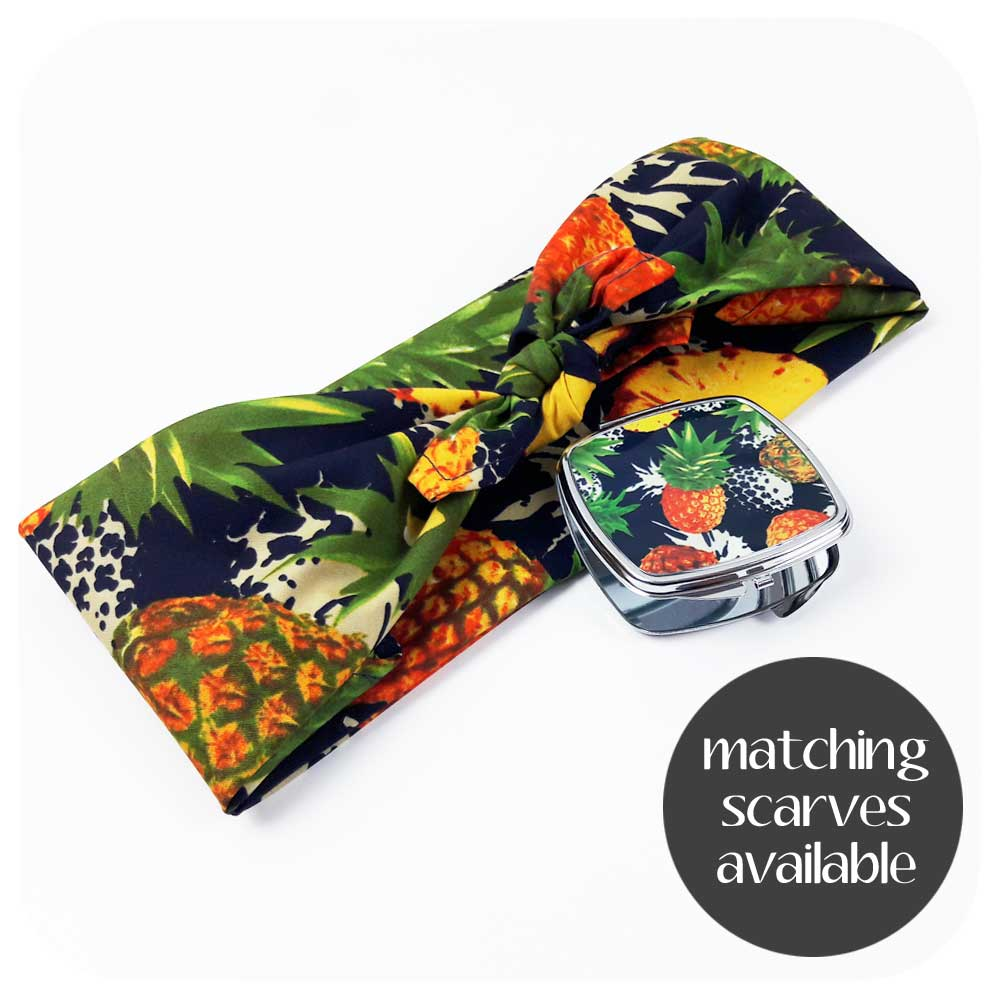 Matching Pineapple Bandana | The Inkabilly Emporium