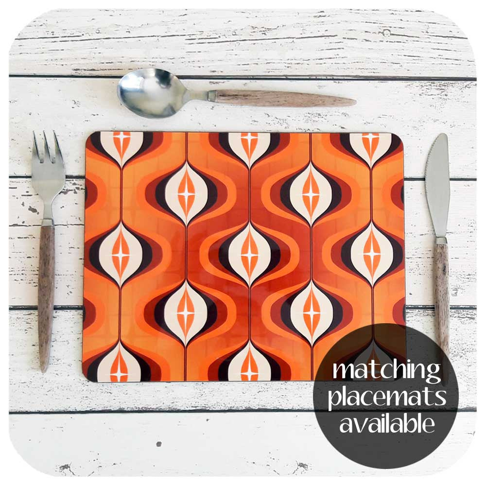 Matching Op Art Placemats available