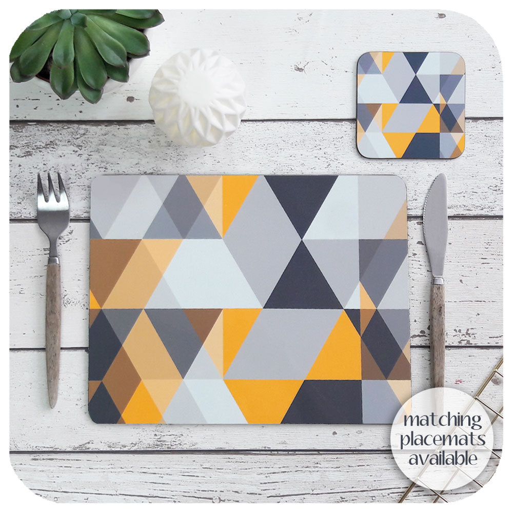 Matching scandi placemats available to complete the tableware set  | The Inkabilly Emporium