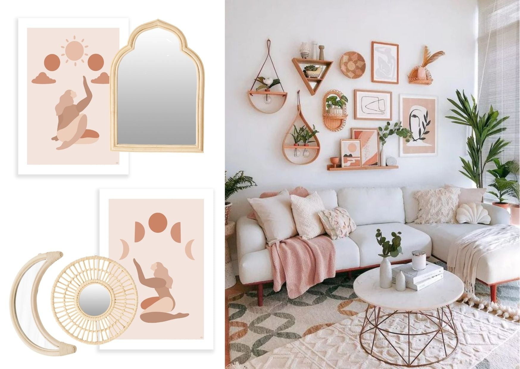 Hunter & Nomad - How to - Wall Styling - Same Colour