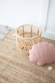 Shell cushion - Dusty rose (PRE-ORDER APRIL ARRIVAL)