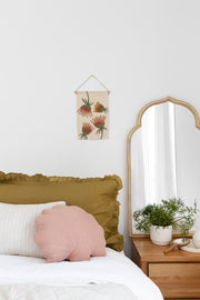 Shell cushion - Dusty rose