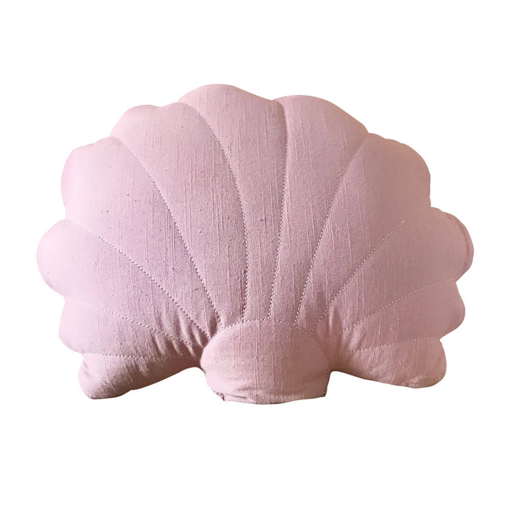 Shell cushion - Dusty rose (PRE ORDER FOR LATE MARCH ARRIVAL)