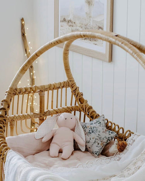 Rattan bassinet - Sol (Pre order for MAY arrival)