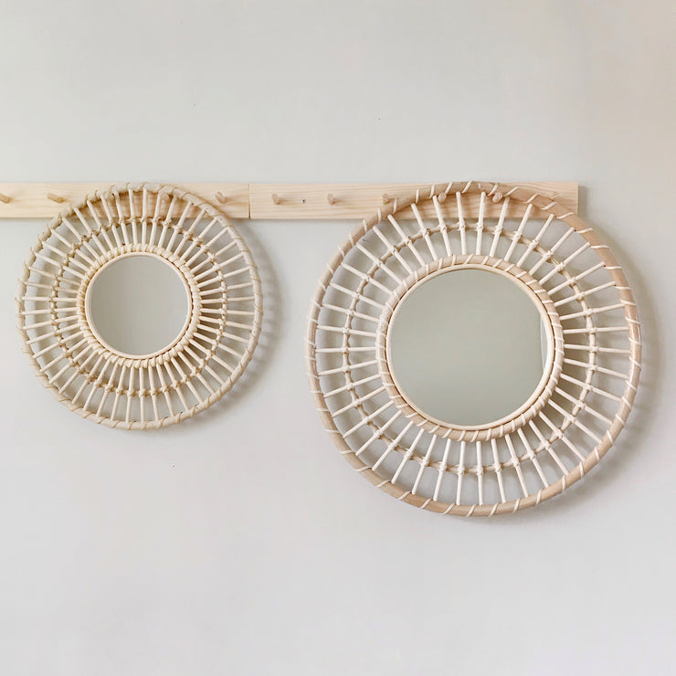 Rattan mirror - Sun extra large (PRE ORDER - SEPTEMBER ARRIVAL)