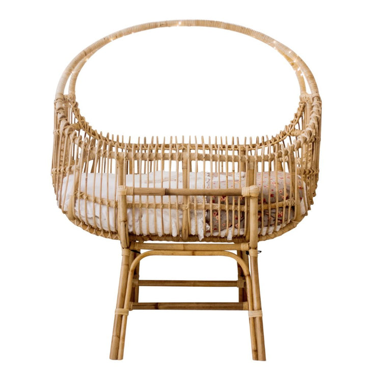 Rattan bassinet - Sol (Pre order for July arrival)