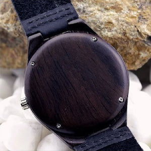 Men's Bamboo wristwatch