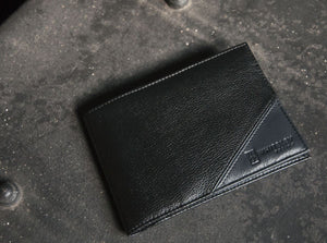 Whiteley Design Leather Men's Wallet - The Traveller