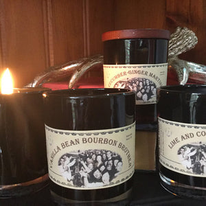 Man candle - Vanilla Bean Bourbon Brother