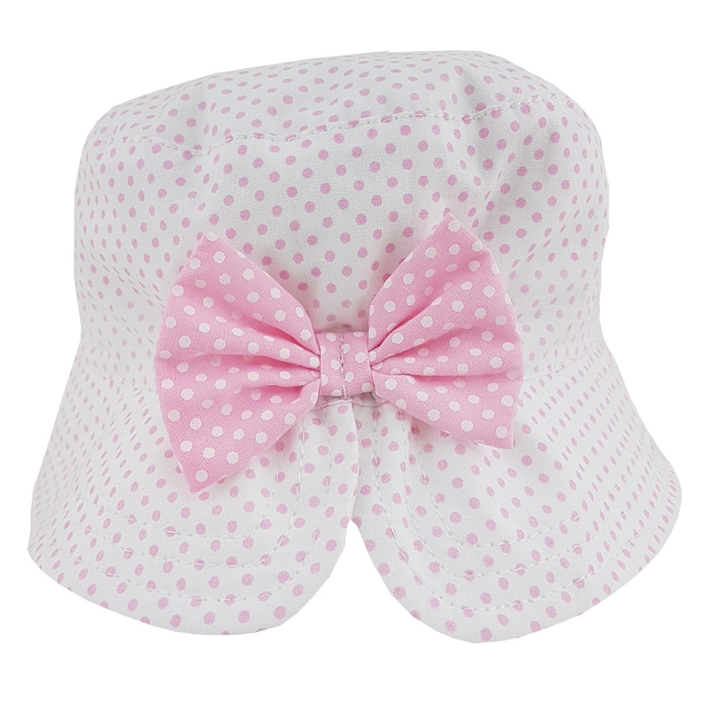 Baby Girls Bow Bucket Hat (6-18 Months) 0264
