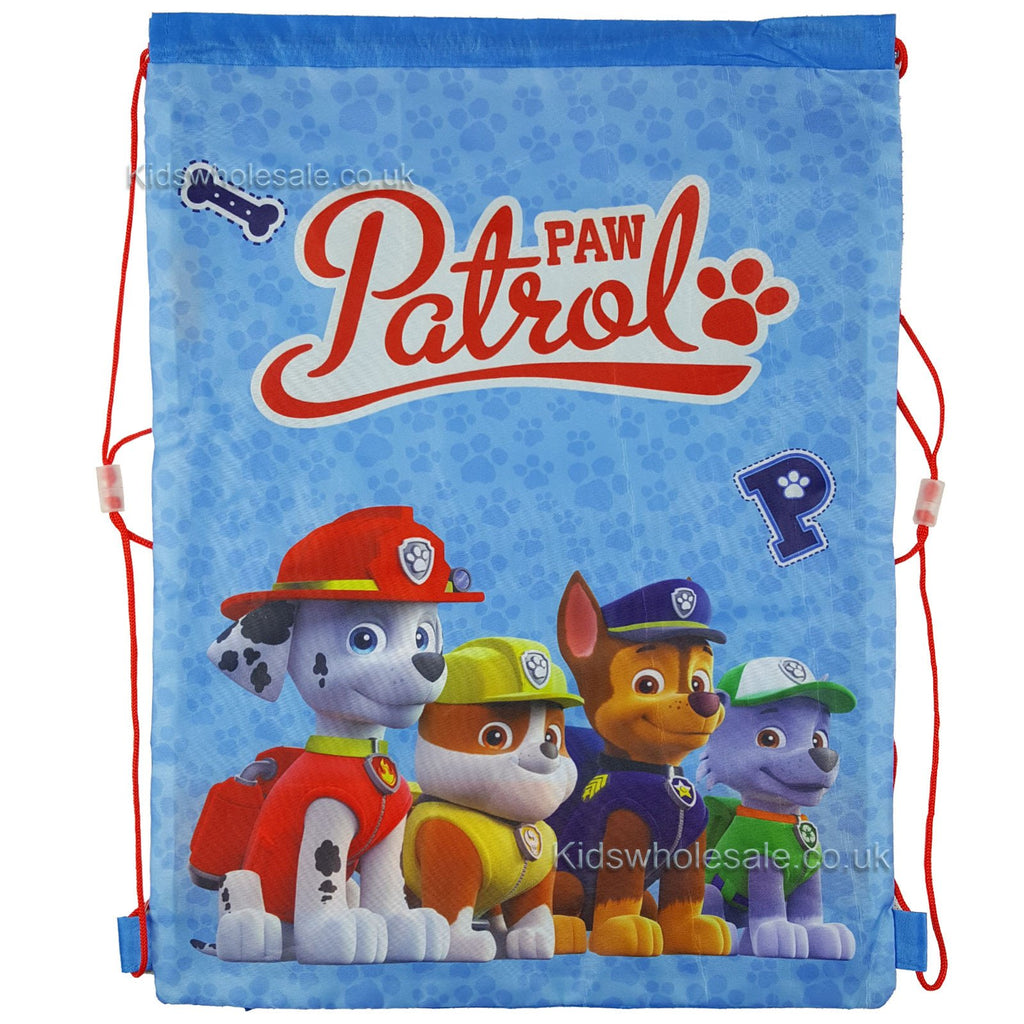 Paw Patrol Troop Shoe/Pull String Bag 41x30 (1101E-6260)