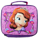Princess Sofia Lunch Bag W/ 3D Effect - 1313-01