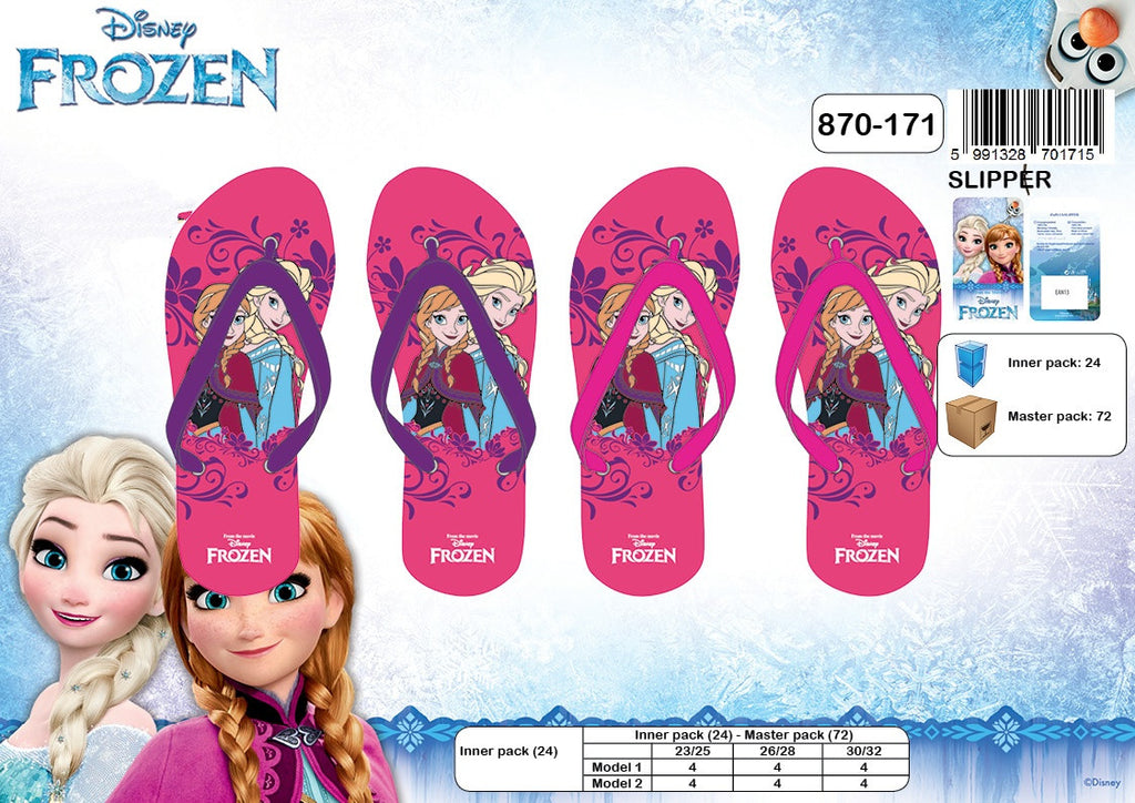 Frozen Girls Flip Flop Slipper