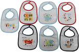 Boys 7  Days of the Week Bibs - (21jtc825)