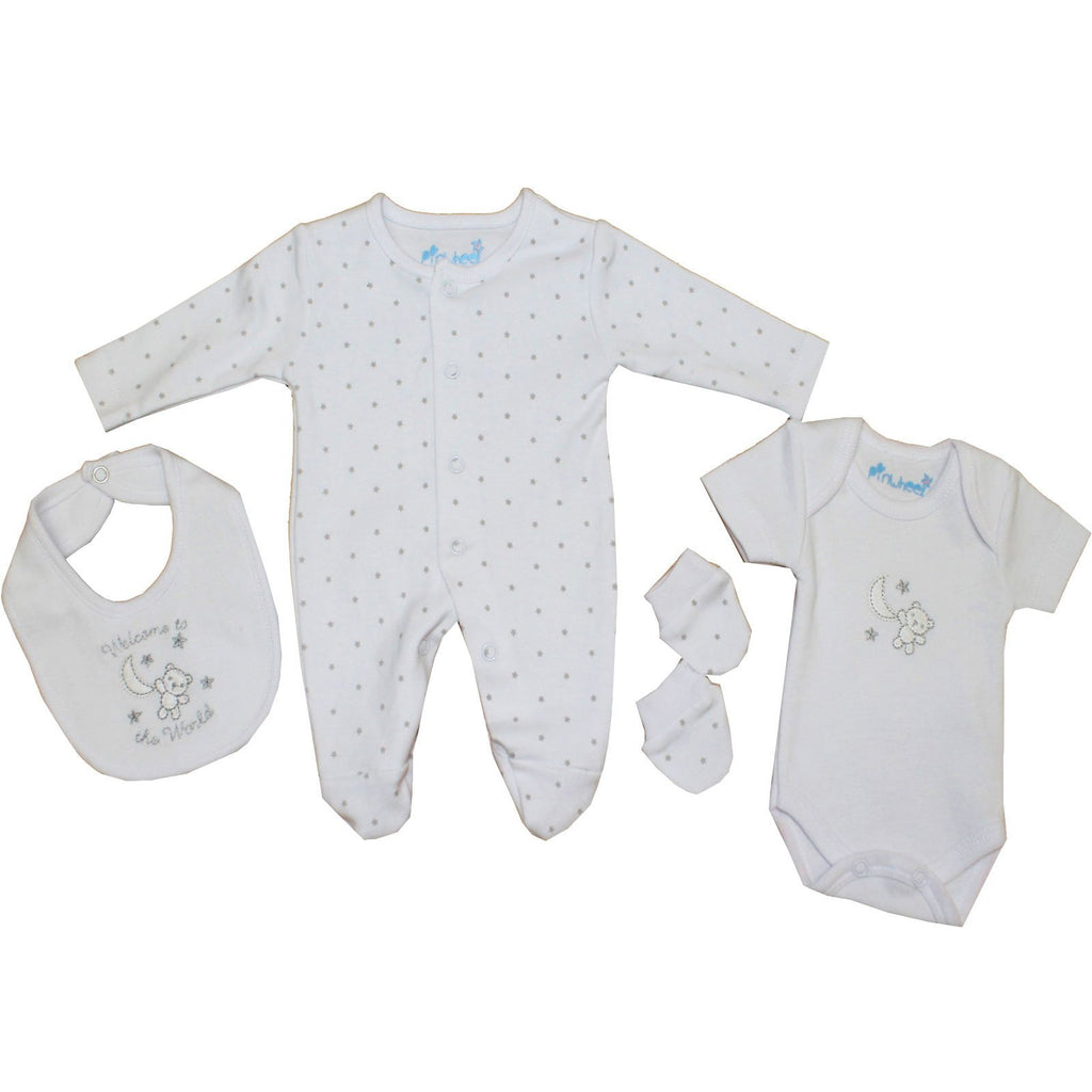Premature Baby 4pc Gift Set - Welcome - 3-8 lbs (40JTC644)