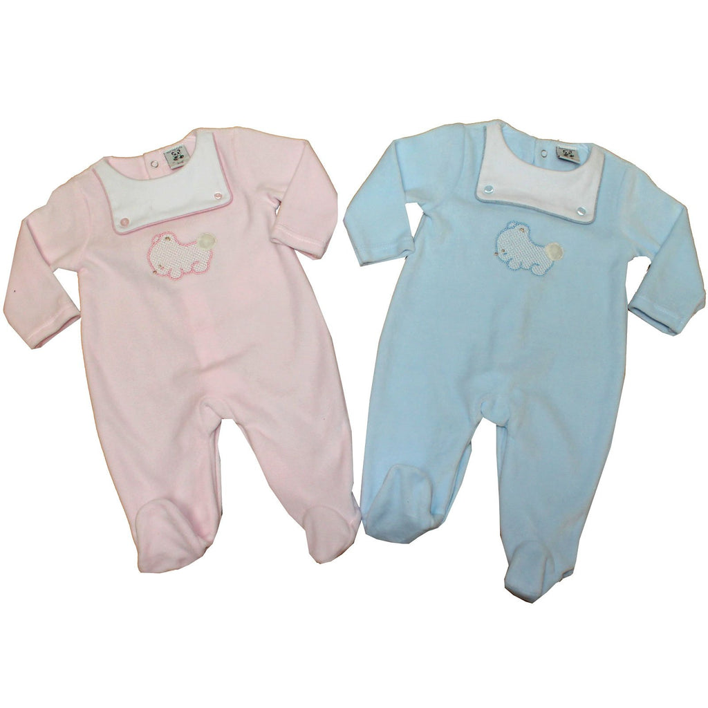 4cf4f83b8c88 Baby Velour All in One - Baby Bear - 0-9M (40JTC436) – Kidswholesale ...