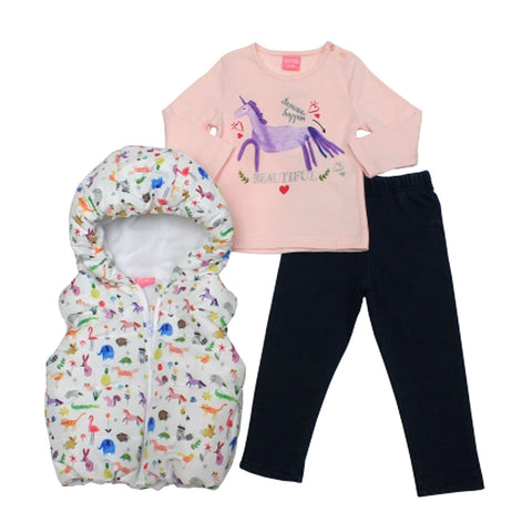 6//9M NEW ANGEL FACE GIRLS 2 PC SWEAT OUTFIT  3//6M