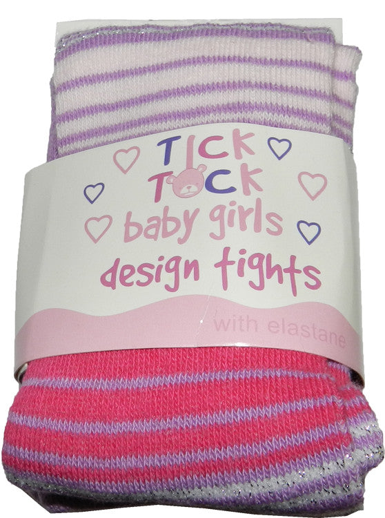Baby Girls Lilac/Glitter Tights
