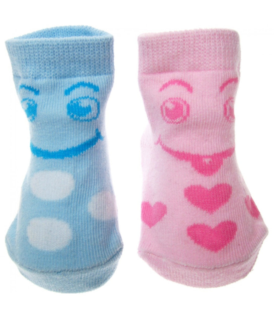 SOFT TOUCH INF SOCKS W/FACE